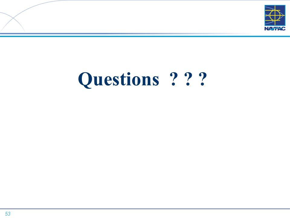 53 Questions ? ? ?