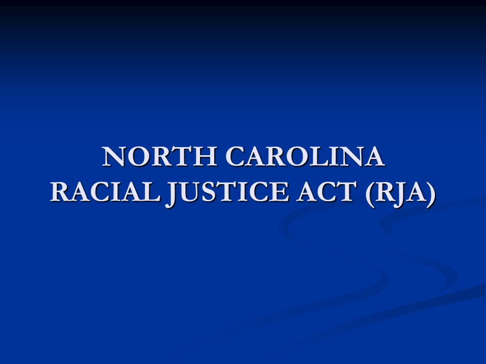 RJA Amendments Statistical evidence alone is insufficient to establish that race was a significant factor.