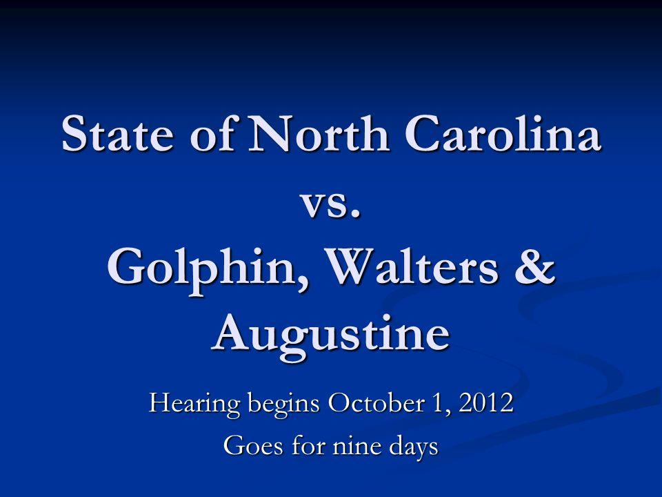 State of North Carolina vs.
