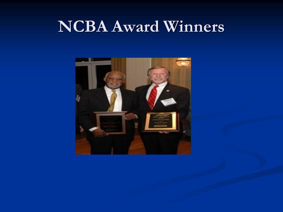 NCBA Award Winners
