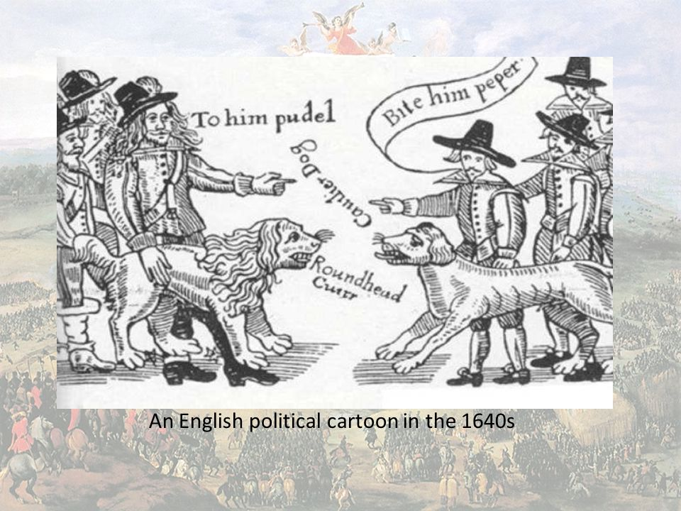 An English political cartoon in the 1640s
