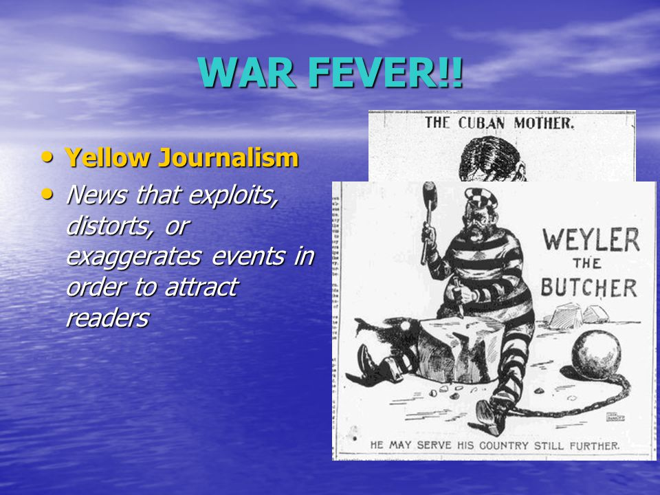 The Spanish American War US concerned about Spanish control in Cuba US concerned about Spanish control in Cuba Wanted to protect American owned sugar plantations Wanted to protect American owned sugar plantations US against Spanish atrocities towards Cubans US against Spanish atrocities towards Cubans