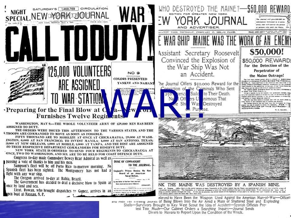 WAR FEVER!. In Feb.