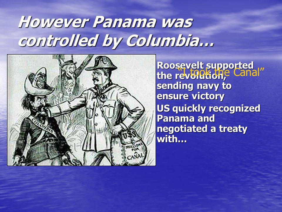 Option number two…Panama