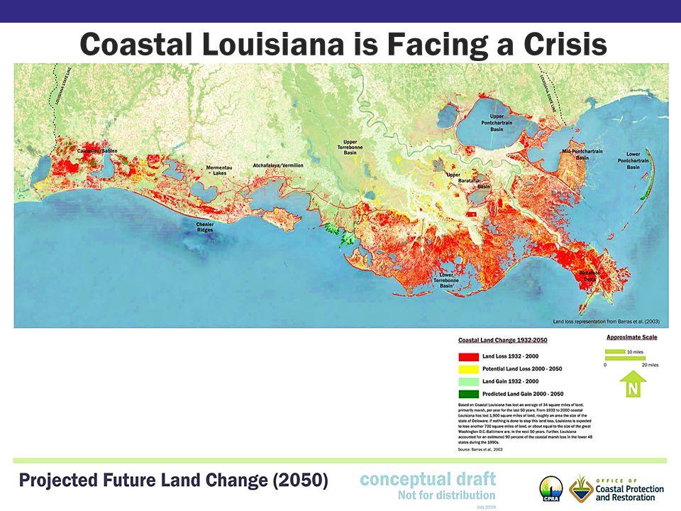 Coastal Louisiana is Facing a Crisis