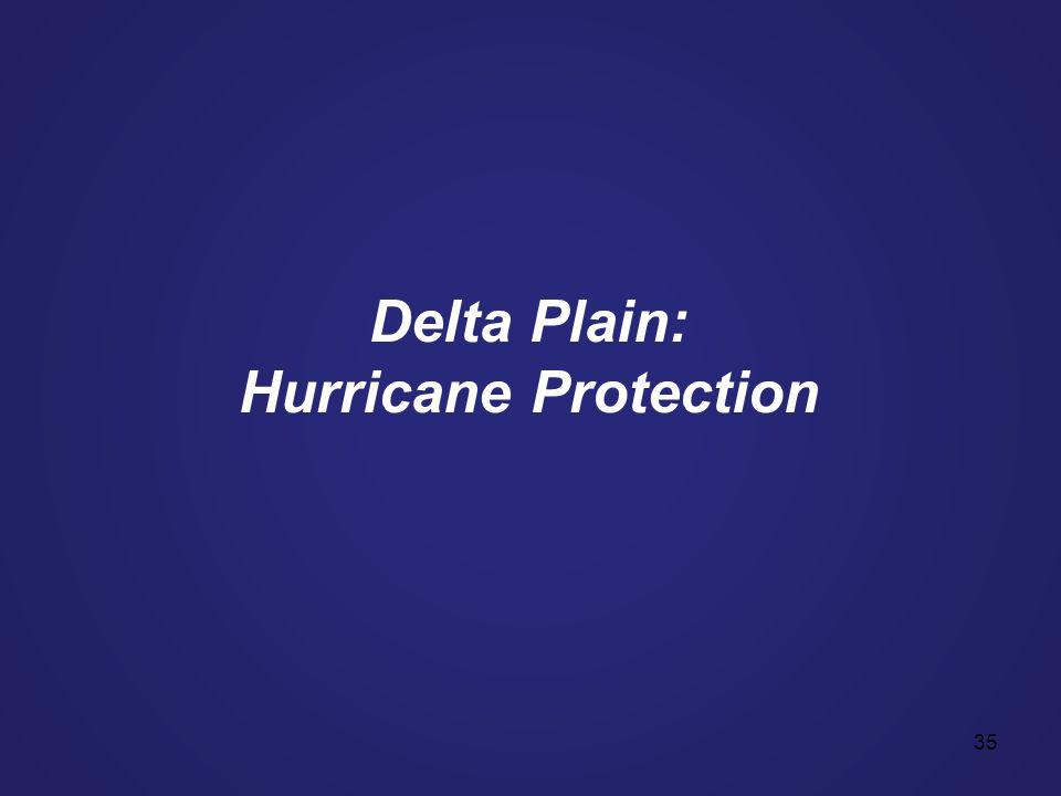 35 Delta Plain: Hurricane Protection