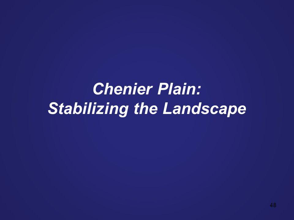 48 Chenier Plain: Stabilizing the Landscape