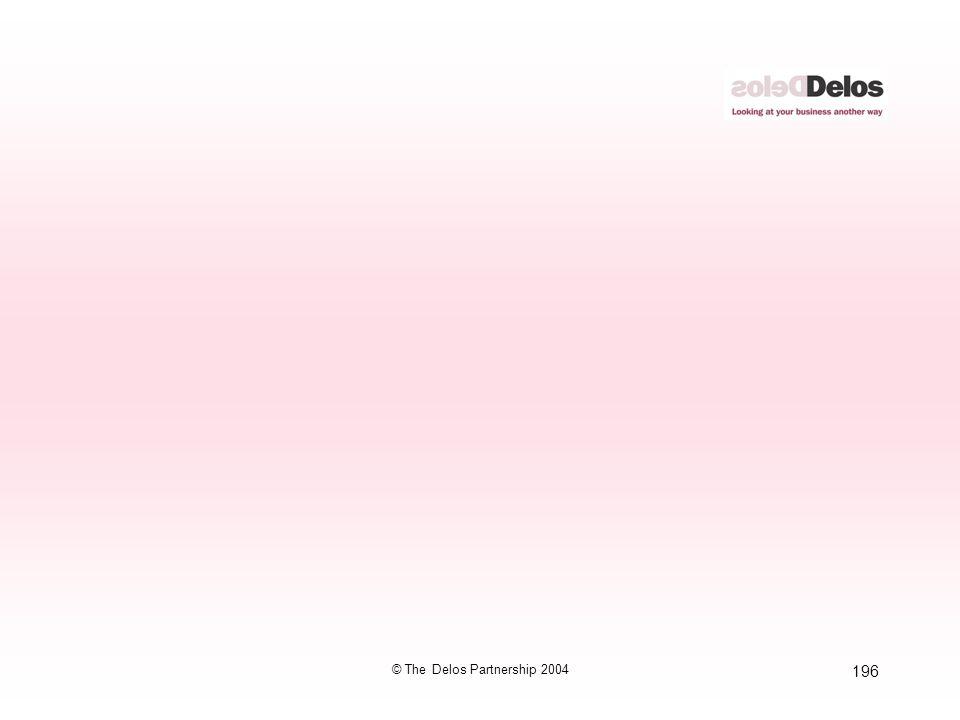 196 © The Delos Partnership 2004