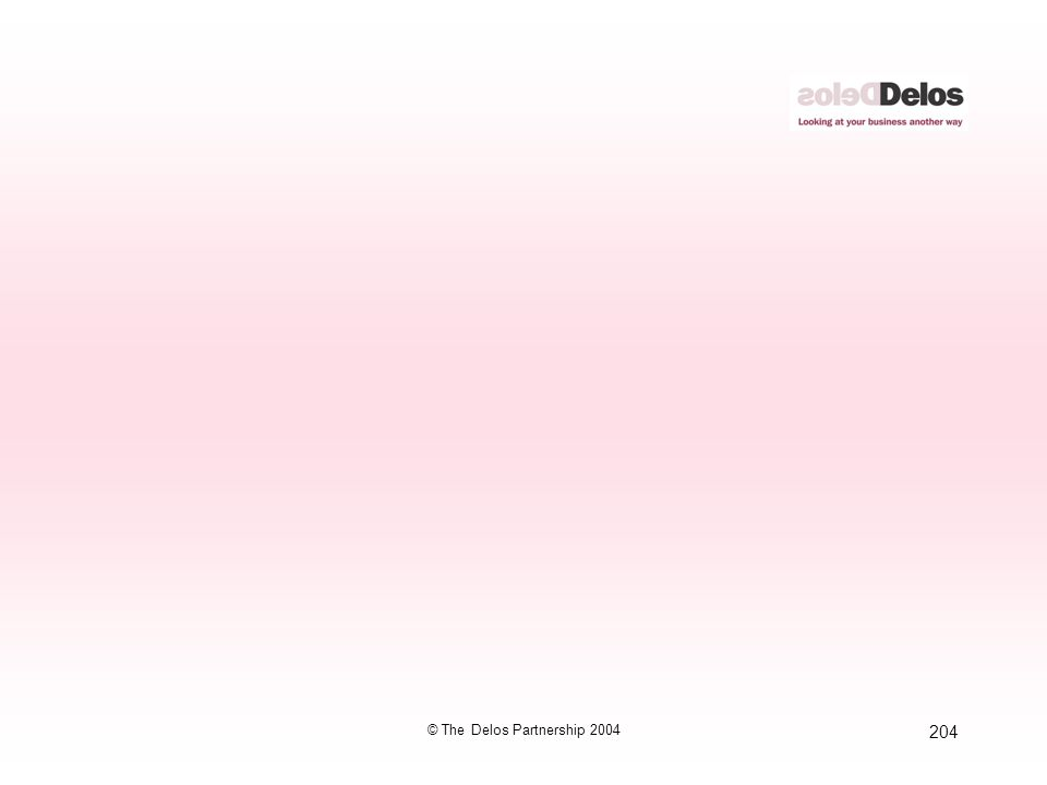 204 © The Delos Partnership 2004