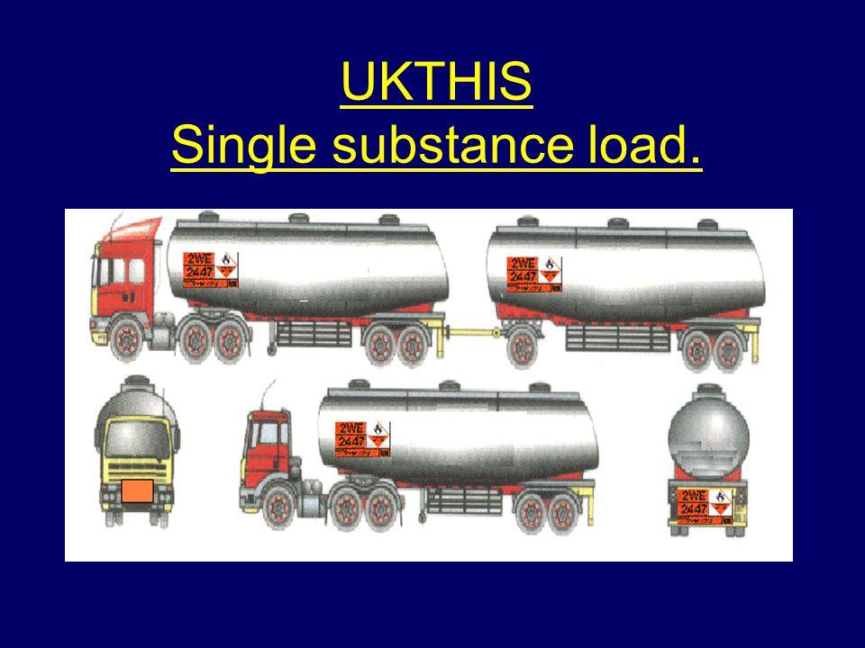 UKTHIS Single substance load.
