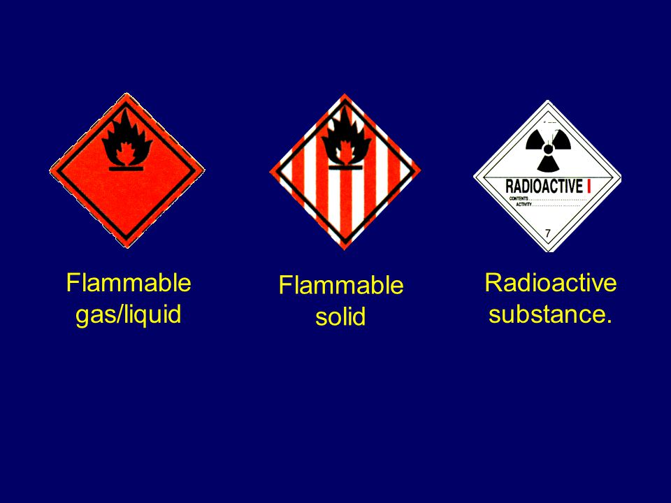 Emits flammable gas in contact with water Miscellaneous dangerous goods Liable to explosion.