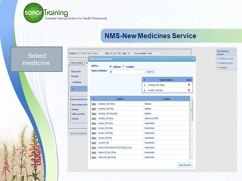NMS-New Medicines Service Recruitment