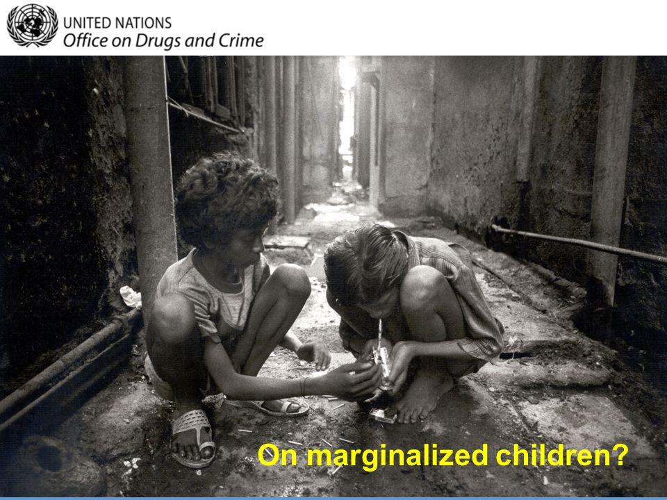 On marginalized children?