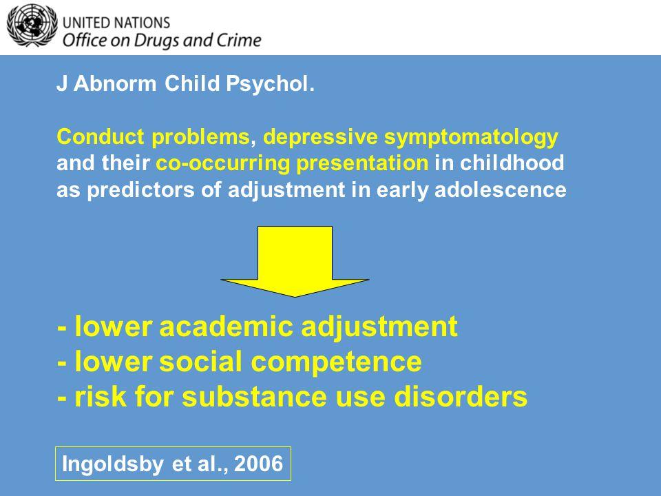 J Abnorm Child Psychol.