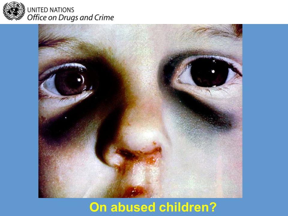 On emotionally neglected children?