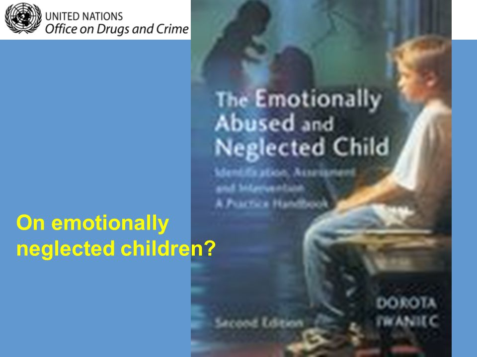 On socially deprived adolescents?