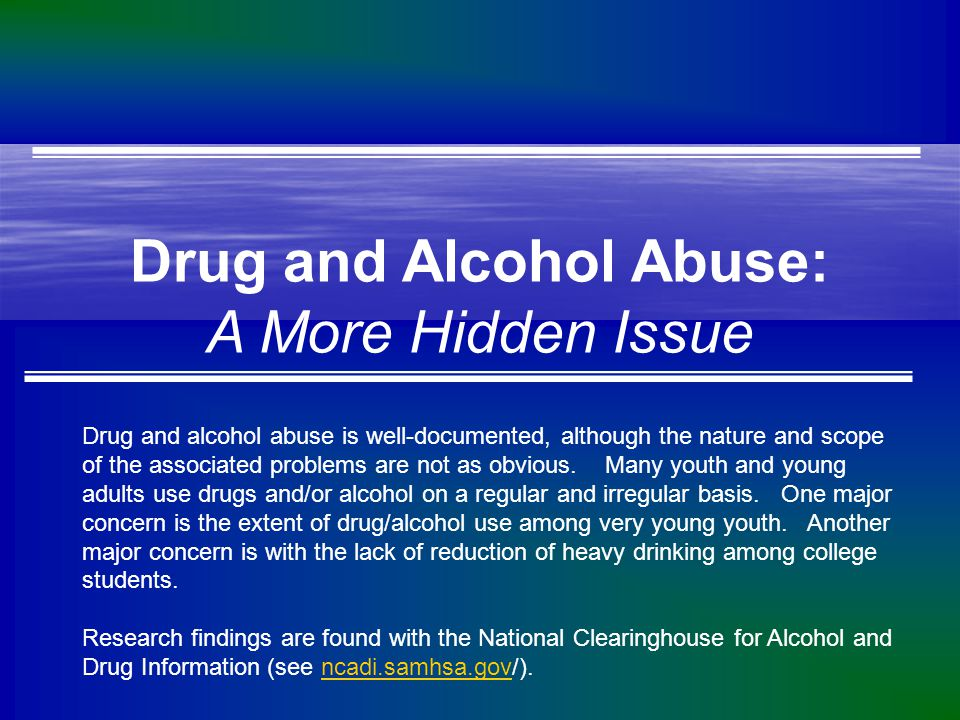 Alcohol is the Substance of Choice Among Adolescents Source: Monitoring the Future, 2003