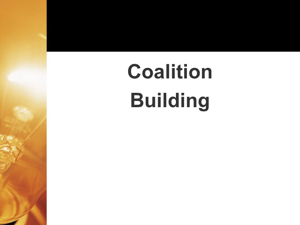Coalition Building