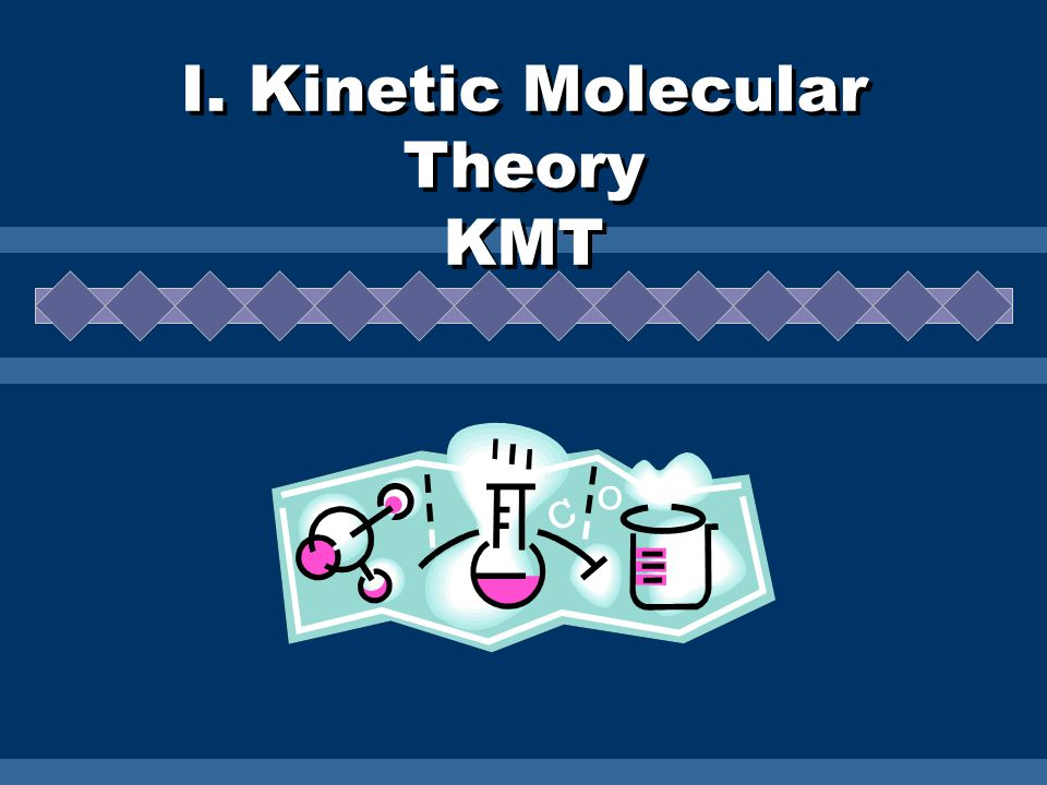 Assumptions of KMT All matter is composed of tiny particles These particles are in constant, random motion.