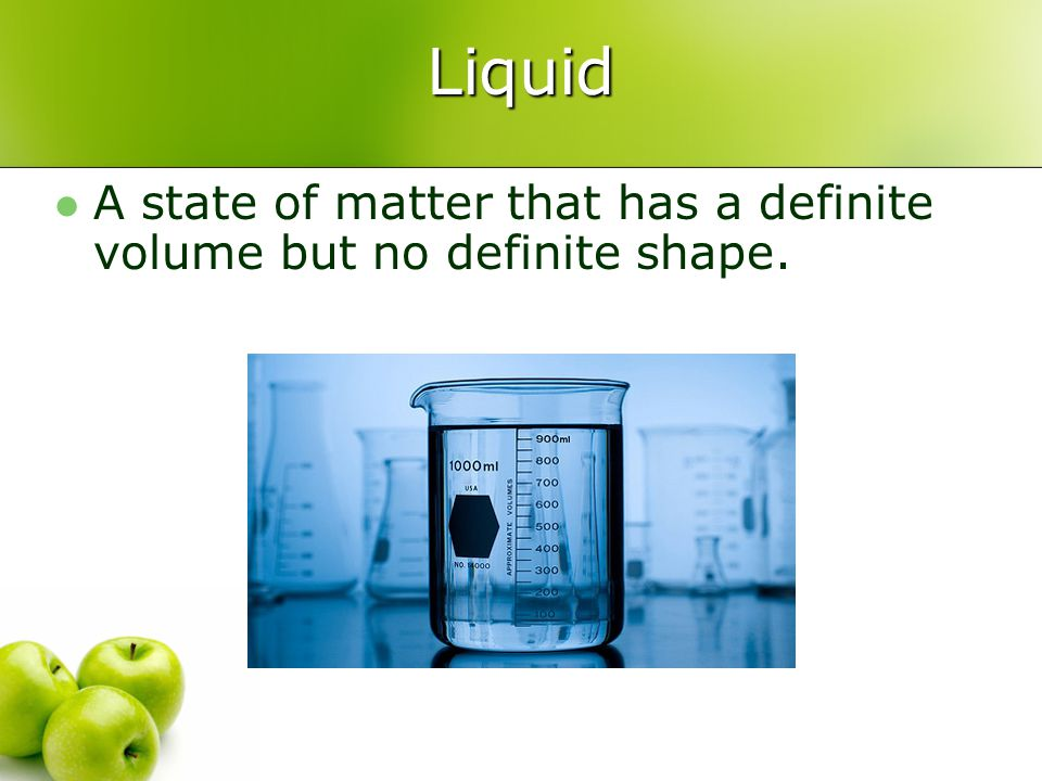Mixture Formed when two or more substances are combined physically.