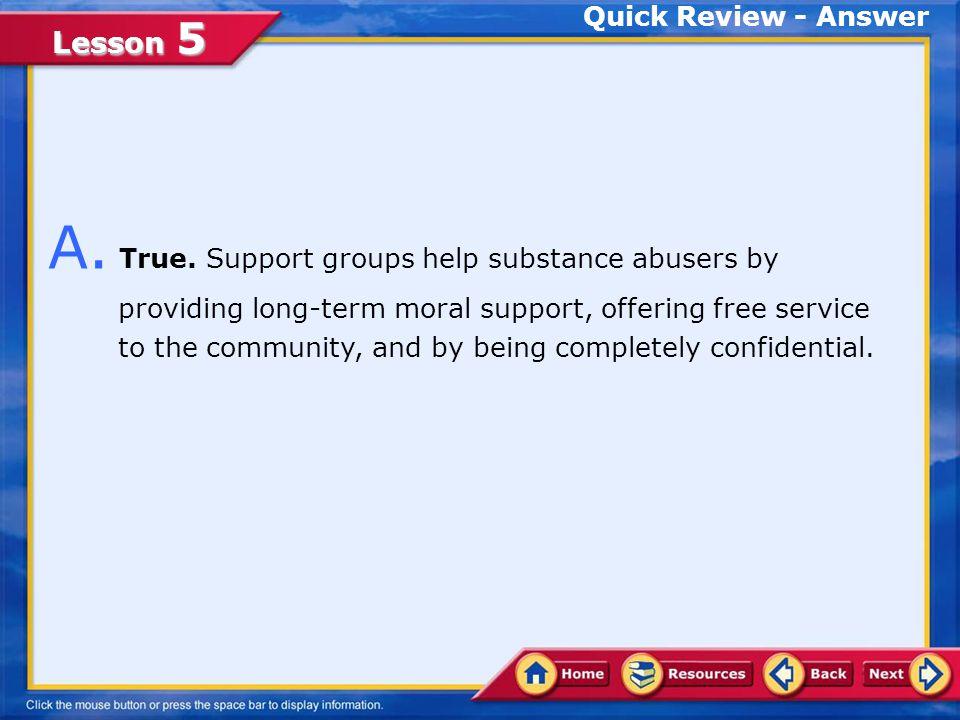 Lesson 5 Quick Review Q.