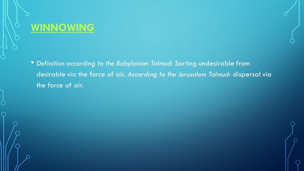 SORTINGSORTING/PURIFICATIONPURIFICATION Definition: Removal of undesirable from desirable from a mixture of types.