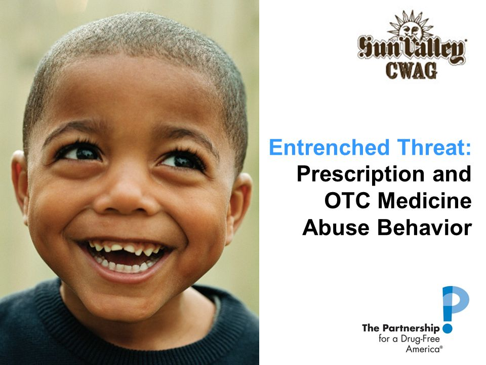 Entrenched Threat: Prescription and OTC Medicine Abuse Behavior