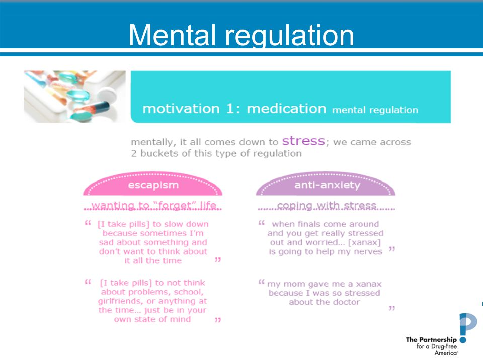 Mental regulation