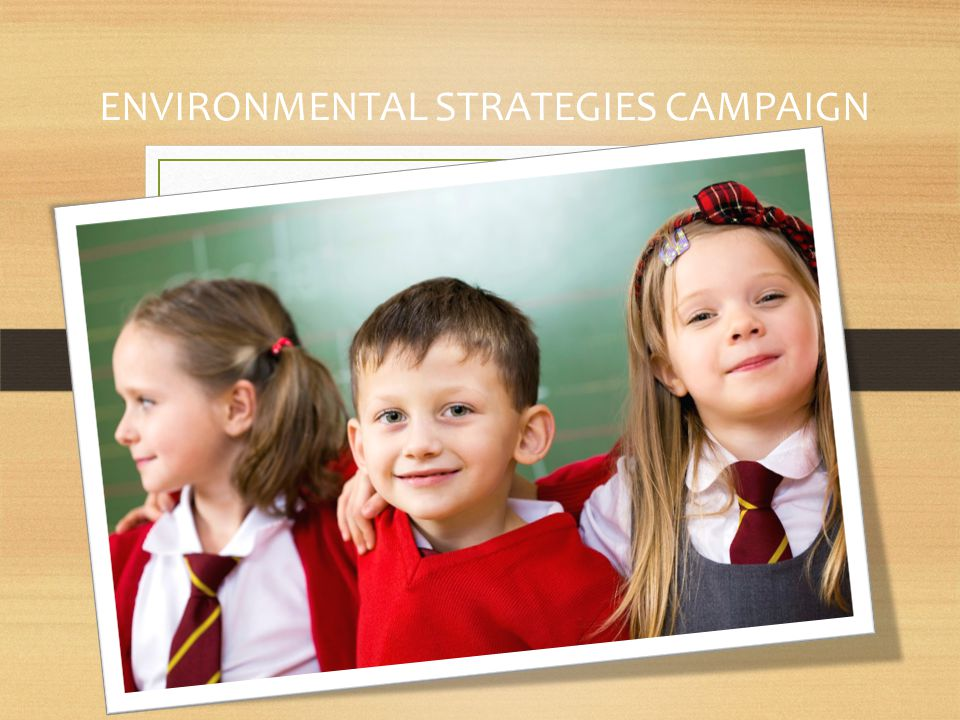 ENVIRONMENTAL STRATEGIES CAMPAIGN