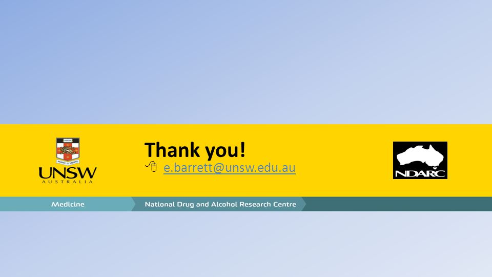 Thank you!  e.barrett@unsw.edu.au