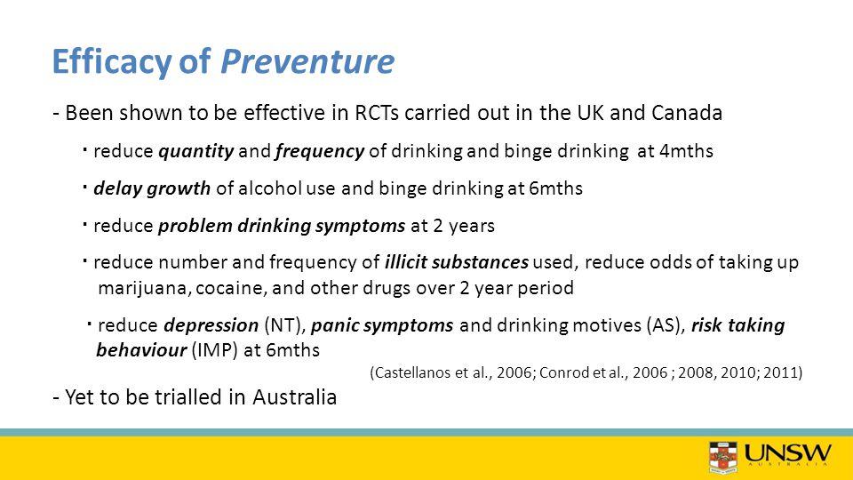 Why use Preventure in Australia.