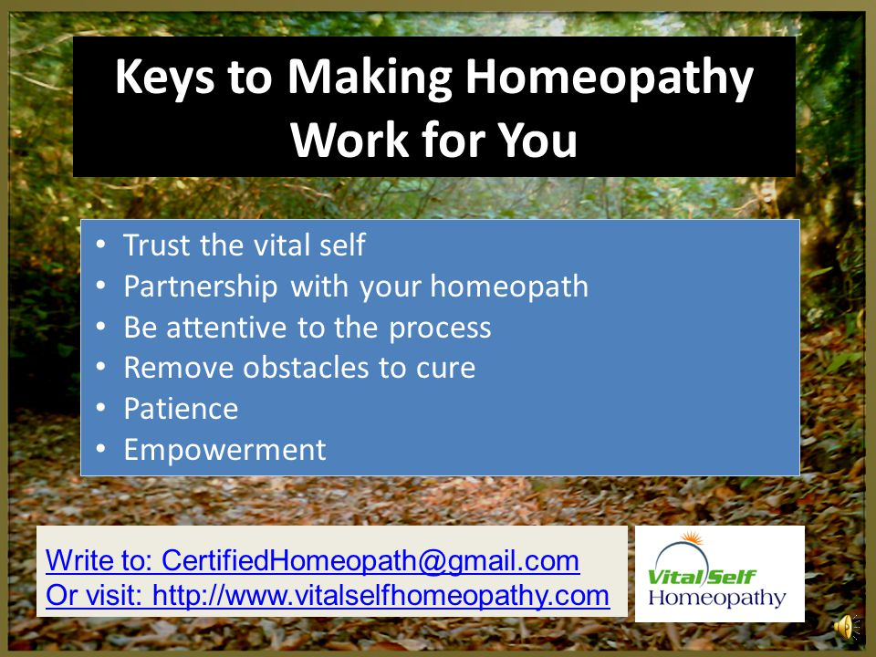 Current Research on Homeopathy Literally hundreds of high quality, published basic science, pre-clinical and clinical studies have shown that homeopathy works Respected journals like Lancet, Pediatrics, Rheumatology, Annals of Internal Medicine http://nationalcenterforhomeopathy.org/