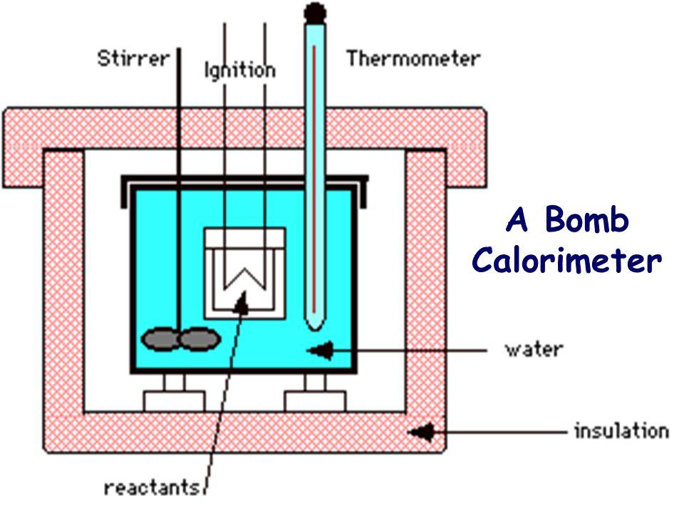 A Bomb Calorimeter