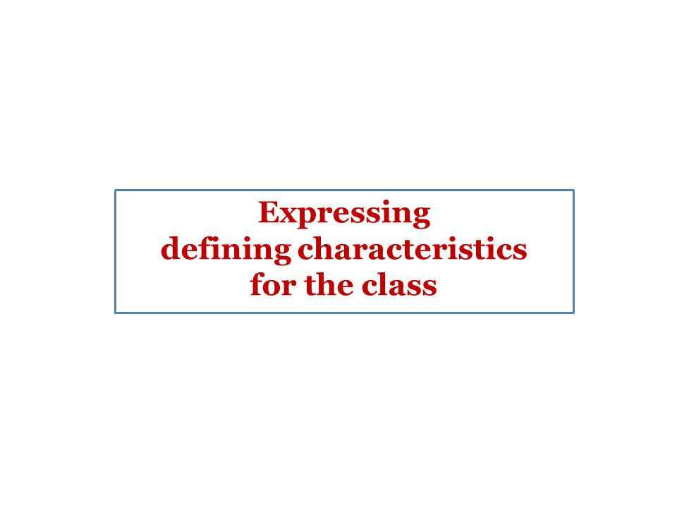 Defining Characteristics Class + Prepositional Phrases that Clause Wh clause Gerund clause Participle clause the person at school … the person that studies at a school … the person who studies at a school … the person receiving classes at a school … the person graduated from a school …