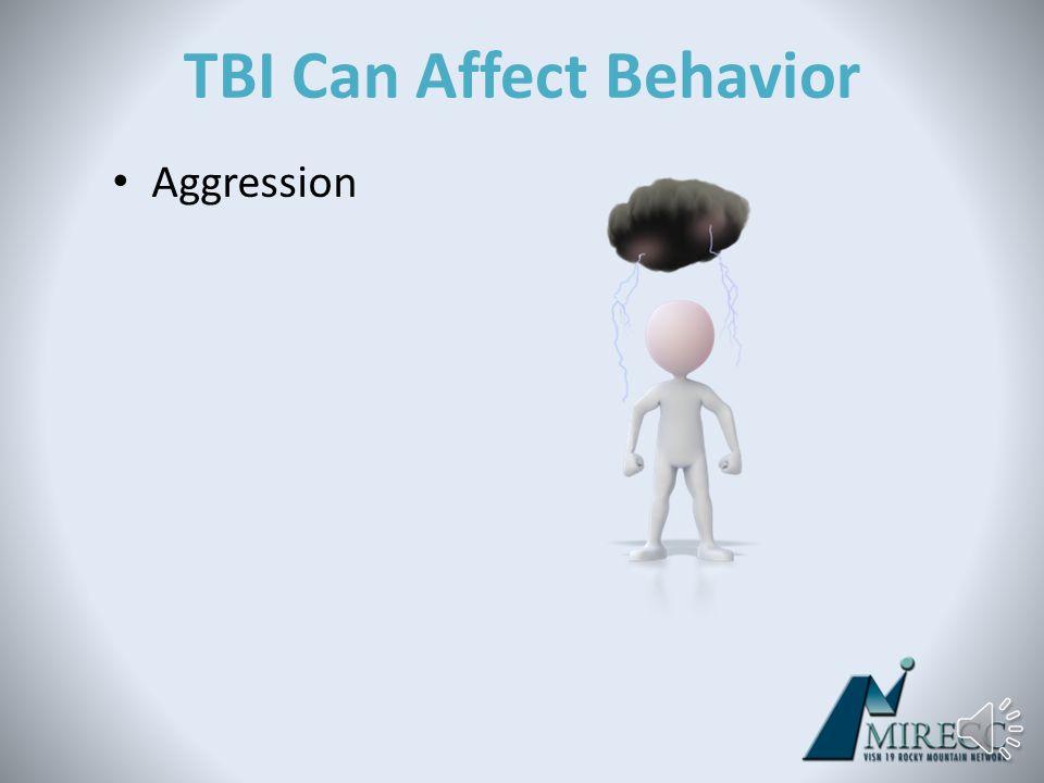 TBI Can Affect Mood Apathy/Depression