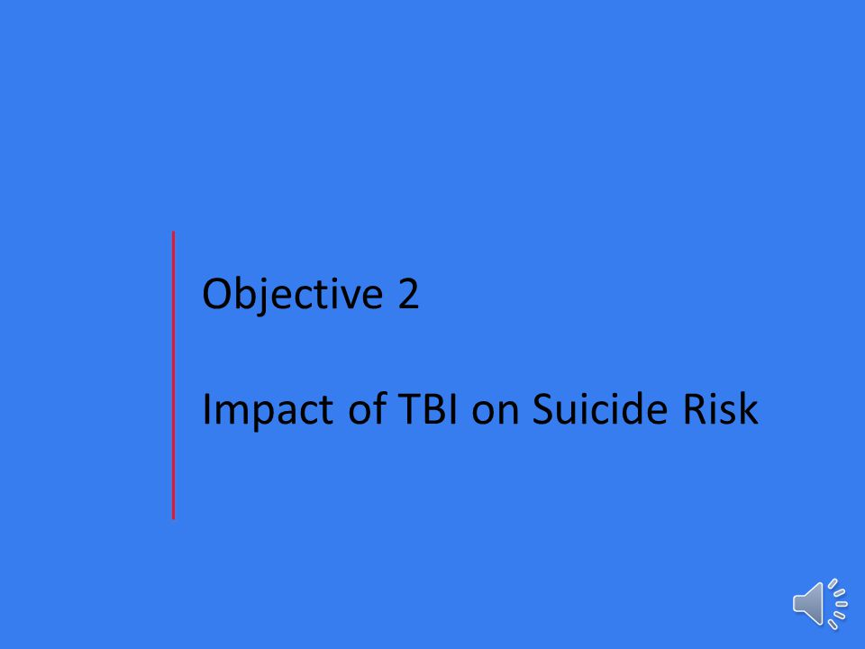 Take Home Message TBI → Cognition TBI → Mood TBI → Behavior TBI → Systems issues Direct result from the injury Reaction to life experiences after TBI