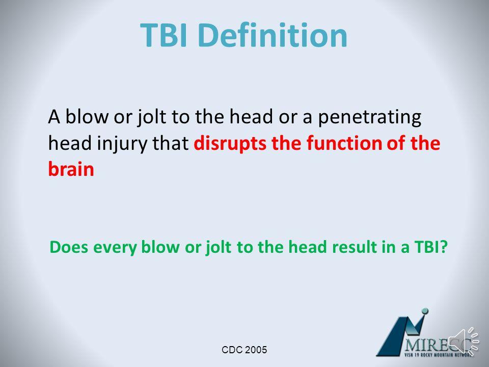 Objective 1 TBI Basics