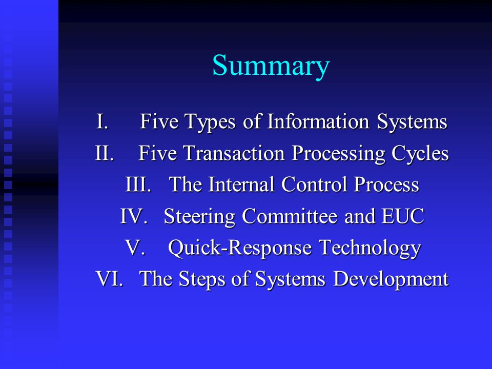 C. Behavioral Considerations The users of systems should be included throughout the steps of systems development. The users of systems should be inclu