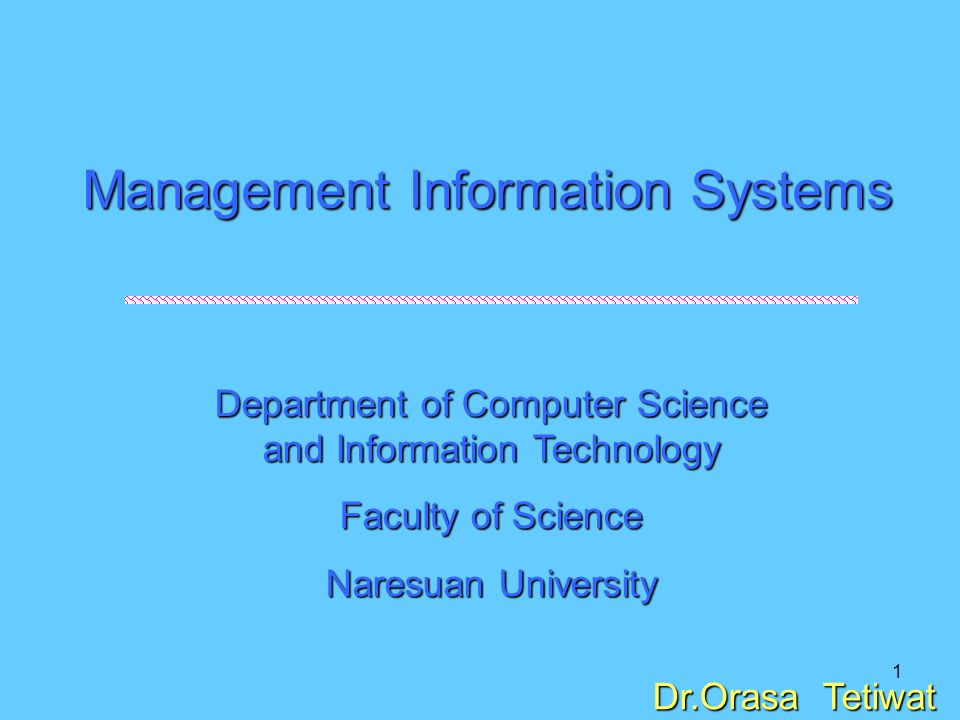 2 Foundations of Information Systems in Business 1