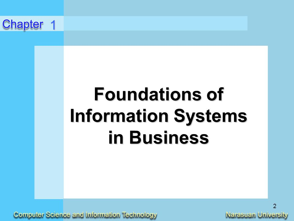 13 Components of an Information System (Continued) Data ResourcesData Resources –Data versus Information Network ResourcesNetwork Resources –Communication media –Network support 1