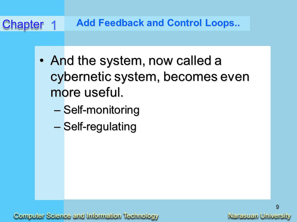 10 Other System Characteristics A system exists and functions in an environment containing other systems.A system exists and functions in an environment containing other systems.