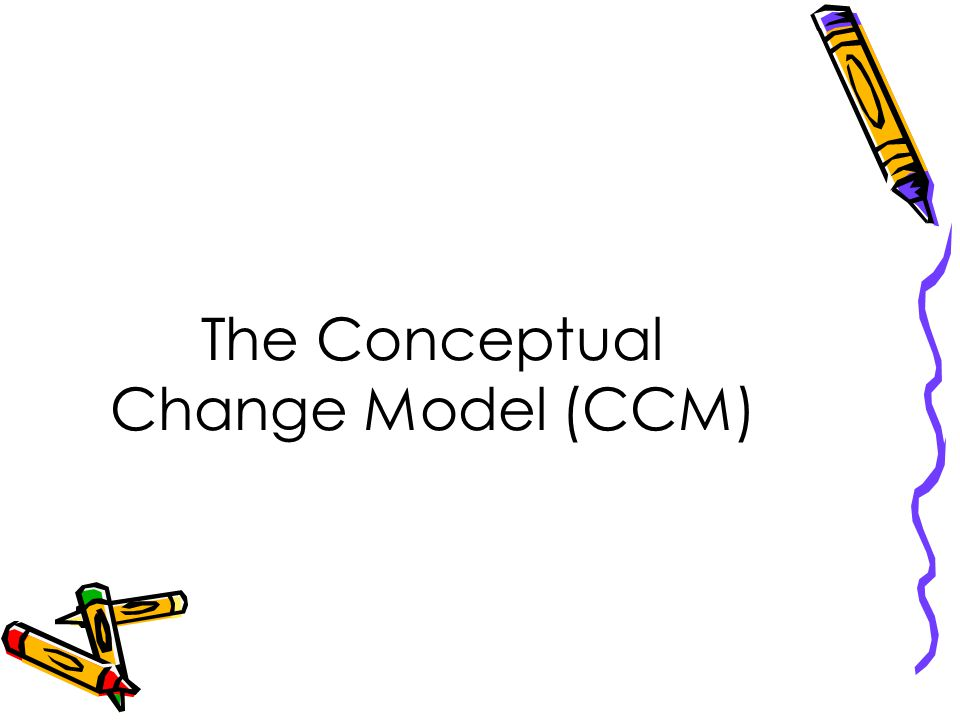 The Conceptual Change Model (CCM)