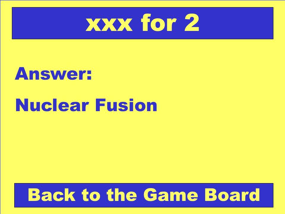 Question: Hydrogen-1, deuterium, tritium are? xxx for 3 Check Your Answer