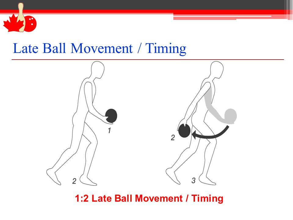 1:2 Late Ball Movement / Timing Late Ball Movement / Timing