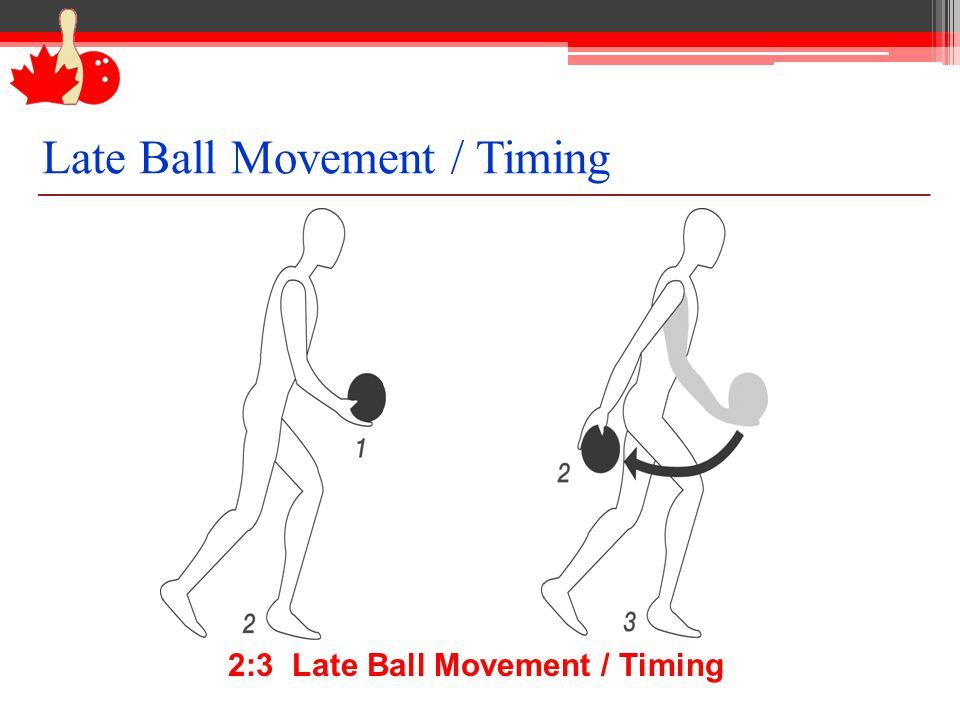 2:3 Late Ball Movement / Timing Late Ball Movement / Timing