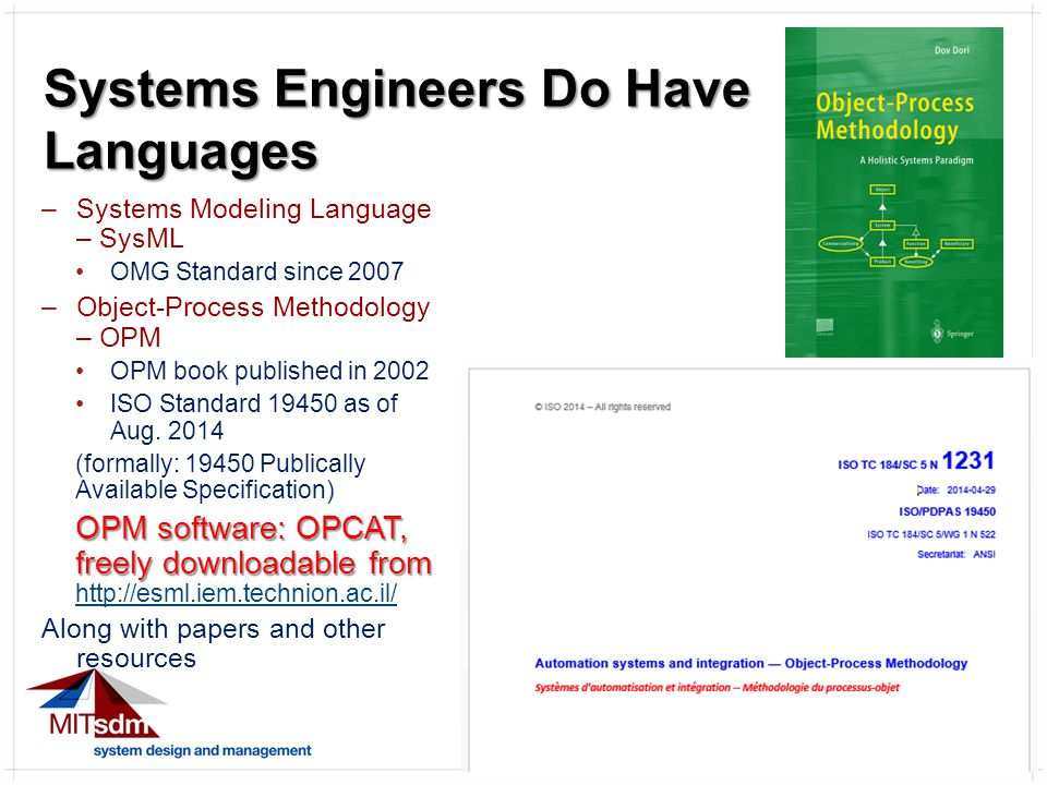 25 So the OPM Things are: 1.Stateful Object 2.