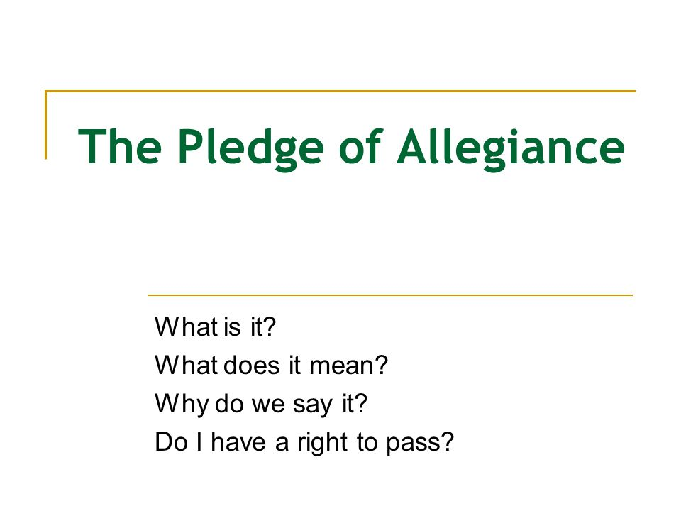 Sennett Pledge Expectations To pass: 1. Sit or stand silently.