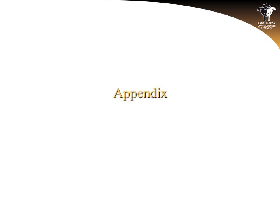 Appendix o