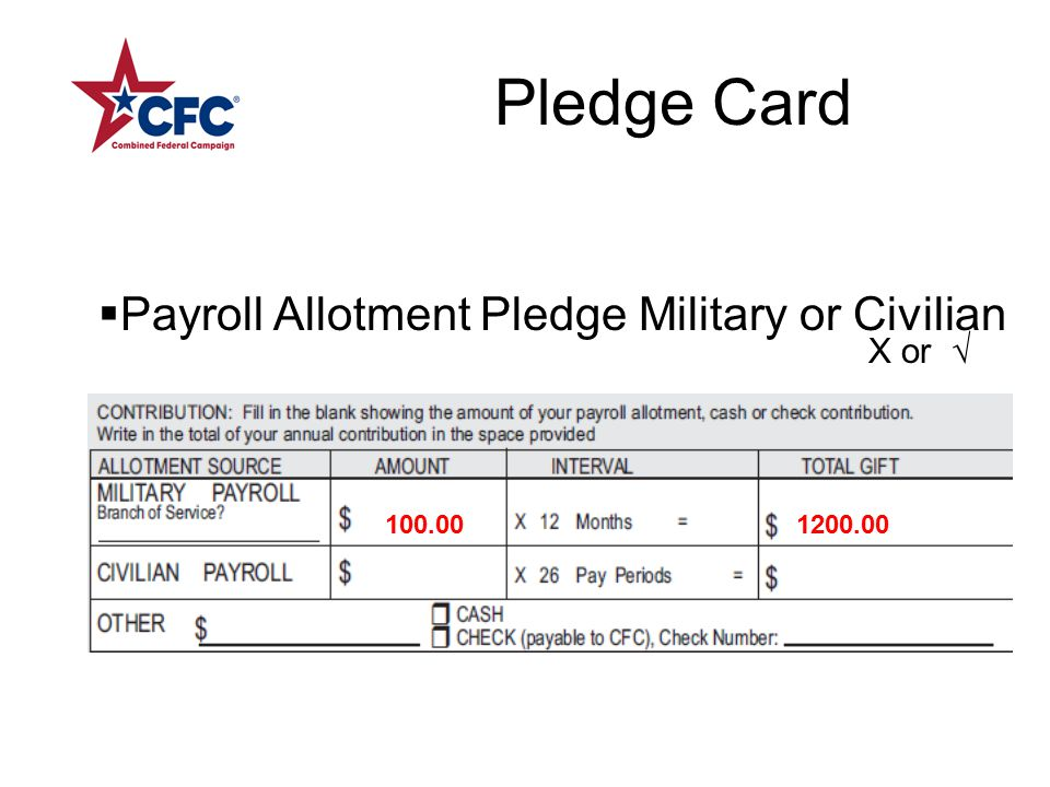 Pledge Card Choice of Gift not specified OR Both Gifts Specified OR BOTH the Decline and Gift Box are checked.