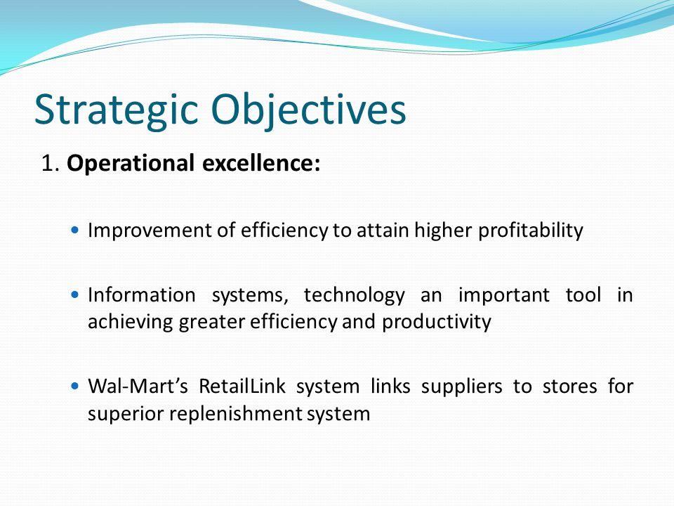 Strategic Objectives 1.